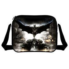 Official Batman Arkham Dark Knight Poster Messenger Shoulder Bag - DC Comics New