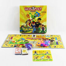 Cute Party Family Board Game Pocket Monster Pokemon MONOPOLY 2~4 Players Toy Set