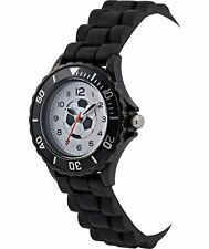 Boy's Tikkers Black Football Watch/ Great Xmas/ Christmas Stocking Filler Gift