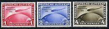 Dt. Reich Chicagofahrt 1933 Michel 496-498** geprüft (S9597)