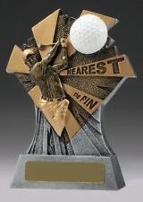 Golf Trophy Nearest to Pin 155mm Engraved Free