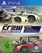 The Crew Ultimate Edition für PS4 *Neu & OVP*