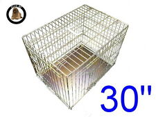 "Ellie-Bo 30"" Medium Dog Puppy Pet Cage Folding Carrier Crate In Gold"