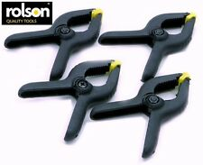 Rolson Spring Clamp Set 90Mm Set Of 4 Diy Hardware Hand Tools Home Garage New