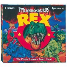 Tyrannosuarus Rex Board Game - T- Dinosaur Family Activity Learning Racing
