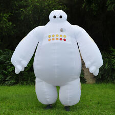 Adult Big Hero 6 Inflatable Baymax Mascot Costume Fancy Dress Cosplay Outfit NEW