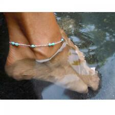 Infinity Simple Anklet Bracelet Silver Plated Foot Chain