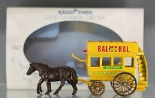 1987 Lledo Radio Tim Royal Celebration Ruby Wedding Horse Drawn Double Deck Bus