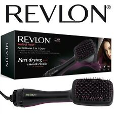 Revlon Womens Ionising Hot Air Paddle Brush Hair Dryer Styler  Dry and Style New