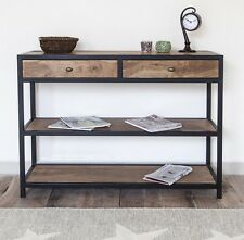 New Solid wood Rustic Industrial style Console Table Hallway