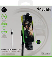 Belkin In Car Tunebase Direct with Handsfree Charge for iPhone SE 5 5s 5c AUX