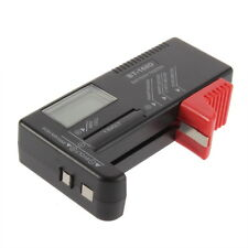 AAA AA C D Battery Tester BT-168D 1.5V 9V Button Cell Rechargeable UL