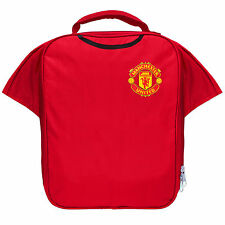 Manchester United FC Official Football Gift Kit Lunch Box Cool Bag