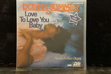 Donna Summer - Love To Love You Baby / Need-A-Man Blues