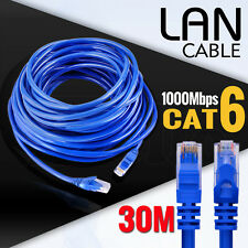 Ethernet LAN Network Cable 100M/1000Mbps High Quality RJ45 CAT6 30M