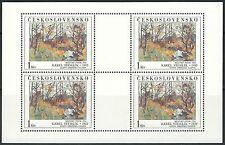 Tschechoslowakei - Kunstwerke der Nationalgalerien postfrisch 1984 Mi. 2789 KLB