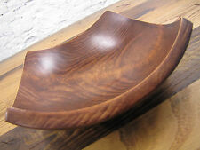 Vintage Mid Century Baribocraft Wood Canada Art Moderne, Bowls, Brown, Post-1940