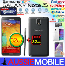 New Samsung Galaxy Note3 4G LTE 64GB(32GB+32GB) Unlocked BLACK 100%GENUINE NOBOX