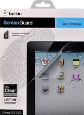 Belkin iPad 4, 3 & 2 Anti-Smudge Screen Protector/Guard/Overlay Tru Clear