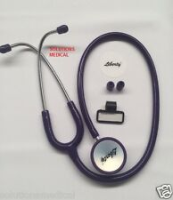 QUALITY DUAL HEAD STETHOSCOPE PURPLE DOCTORS, NURSES & STUDENTS