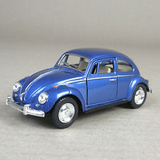 Volkswagen VW 1967 Classic Beetle 1:32 Scale Die-Cast Model Car Pull-Back Blue