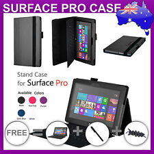 Premium Microsoft Surface PRO 2 II Leather Stand Case Cover 2nd Generation