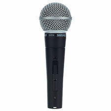 Shure SM58S Dynamic Vocal Live Microphone with Switch