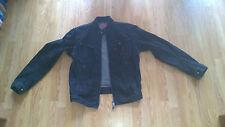 Men's Levi's Denim Cafe Racer Biker Jacket L