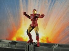 Marvel Superhero Figure Iron Man Mark VI AVENGERS Status Model Cake Topper K782