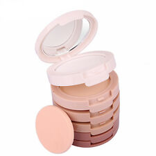 Smooth Makeup 5Colors Face Powder Contour Shading Concealer Palette Foundation