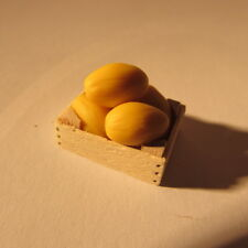 Crate of melons ~ dollhouse miniature food ~ 24th scale