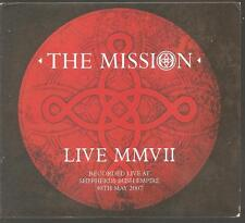 "THE MISSION ""Live MMVII"" Ltd 2CD Digi 2007 Concert Live"