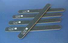 5 x CND KANGA NAIL FILES 240/240 GRIT black acrylic uv gel
