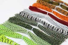 16 bundles/lot DIY Silicone Legs Barred Color Pearl Flake Fly Tying Materials