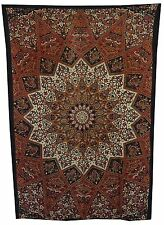Indian Star Hippie Mandala Psychedelic Twin Wall Hanging Tapestry Throw Ethnic