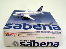 DRAGON WINGS 55410 SABENA A319-112 1:400 DIECAST MODEL