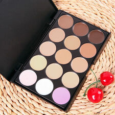 15 Color Contour Makeup Concealer Face Powder Camouflage Neutral Palette Set Kit