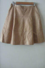 Chanel beige leather skirt, size 40, AUS 6-8, pre loved