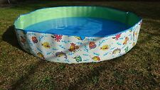 NEW Large Splash Pool Above Ground Kids Toddlers Wade Splasher Pool No Assembly