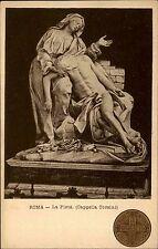 Rom Roma Italien Italia ~1900 La Pietà Cappella Corsini Statue Standbild Kunst