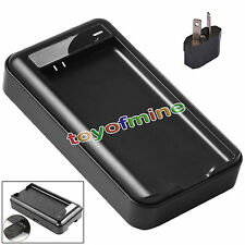 New USB Dock Wall Battery Charger For Samsung Galaxy S5 i9600 G900 Black