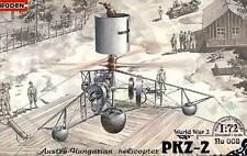 RODEN PKZ-2 Österreichisch-Ungarischer Helikopter Hubschrauber 1:72 Modell Tipp