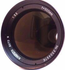 SOLIGOR 300mm f5.5 TELEPHOTO LENS, M42 SCREW MOUNT. MANUAL FOCUS