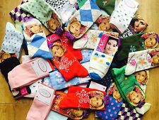 20 pairs luxury ladies womens coloured design socks cotton blend size 4-7 HNGRT