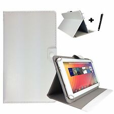 """10.1 inch Case Cover Book For ARCHOS 101b Xenon Tablet - 10.1"""" White"""