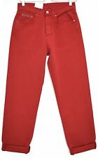 NEW Vintage GAP High Waisted RED Tapered MOM Jeans Size 10 W28 L30