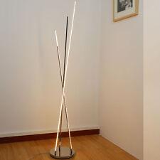 19W LED stehlampe warmweiß Modern stehleuchten Design leuchtmittel 154cm 9018/3L