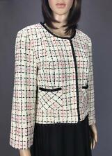** FOREVER NEW ** Size 12 Beige Womens Woven Corporate Occasion Jacket