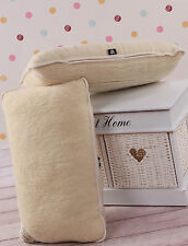 TWO 100% Merino Wool Pillowcase Size 45x75cm *NEW* Pillow cover WOOLMARK
