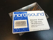 NORD PCMCIA 3 EXPANSION DATA SOUND CARD STORAGE FOR LEAD 1/2/RACK SYNTHESIZER